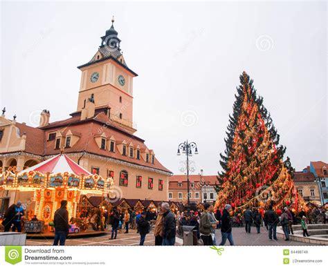 imagenes rumania navidad brasov transilvania rumania en la navidad imagen de