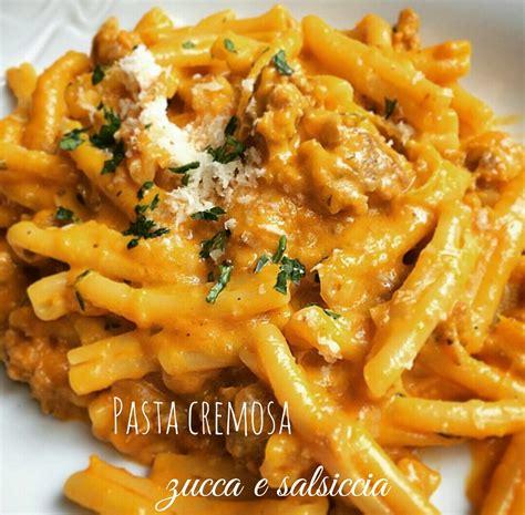 Cucina Italiana Giallo Zafferano by Pasta Cremosa Alla Zucca E Salsiccia