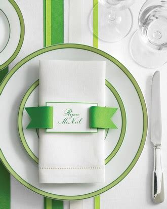 martha stewart place cards template ribbon belt place card template