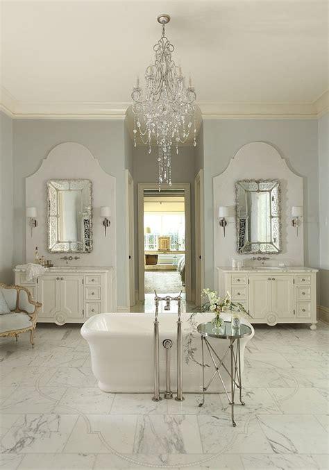 bathrooms with chandeliers feminine bathrooms ideas decor design inspirations
