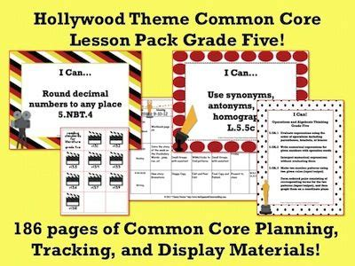theme definition common core 40 best hollywood classroom theme images on pinterest