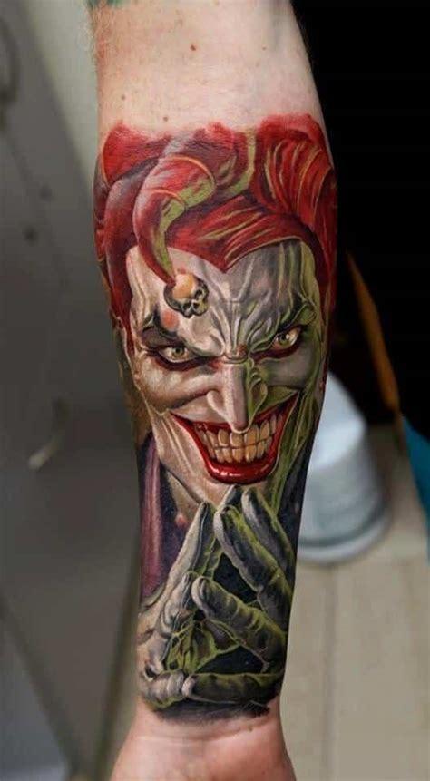 joker eyes tattoo joker tattoos for men ideas and inspiration for guys