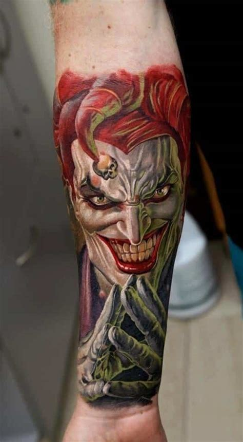 tattoo joker 3d joker tattoos for men ideas and inspiration for guys