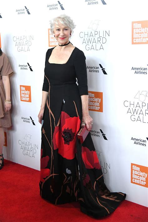 Valentinos 45th Anniversary Gala Carpet by 45th Chaplin Award Gala Carpet Fashion Awards