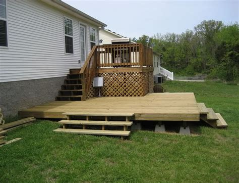 building  floating deck    home design ideas