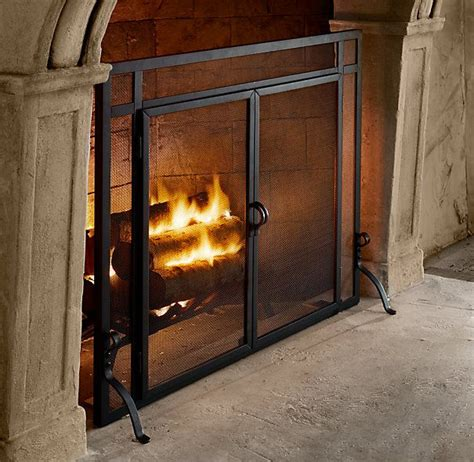 Restoration Hardware Fireplace Screen by 17 Best How To Clean Smoke And Soot Stains From Masonry