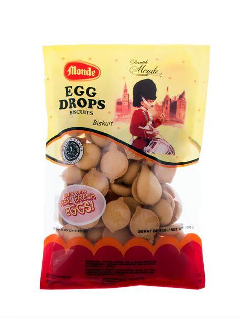 Pocky Tenun 1 monde biscuit egg drops pck 110g klikindomaret