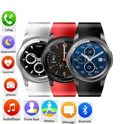 Smartwatch Gw10 3g Wifi Os Android Rate Simcard 1 3inch gw11 smart android gps bluetooth wifi gps fitness tracker sim card ebay