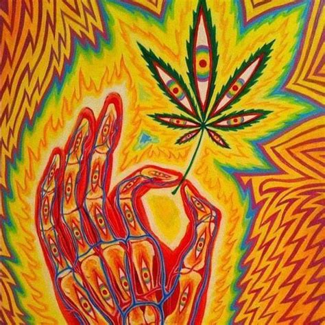 ॐ american hippie quotes psychedelic marijuana leaf