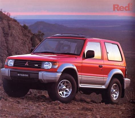 1996 mitsubishi pajero news reviews msrp ratings with amazing images