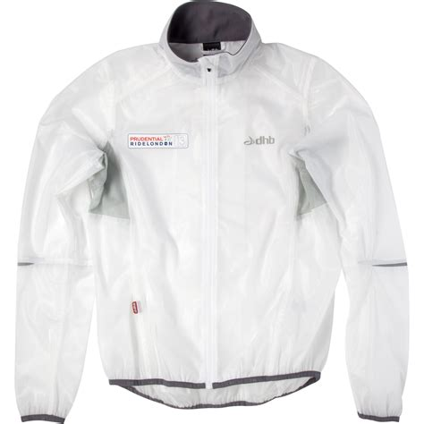clear cycling jacket wiggle dhb prudential ridelondon clear race jacket