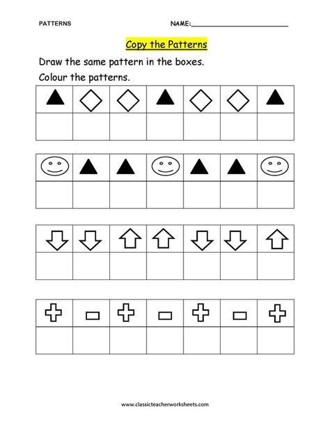 pattern answers math 7 best images about shapes and patterns on pinterest