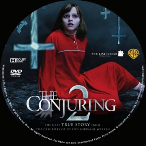 Dvd The Conjuring 2 the conjuring 2 dvd covers labels by covercity