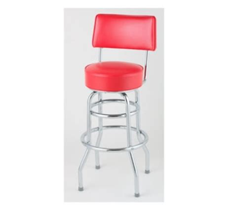 royal industries bar stools royal industries roy 7716 r open back double ring bar