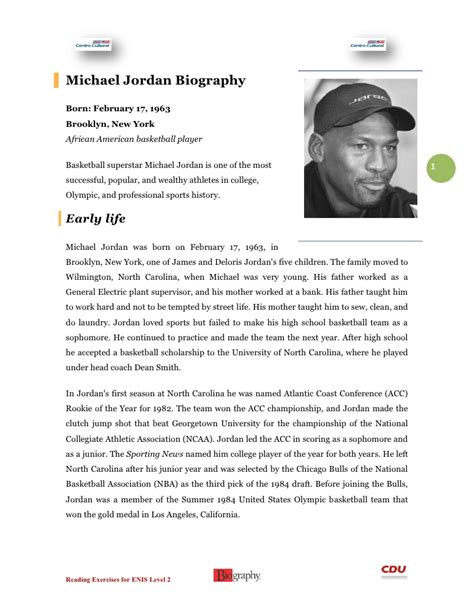 Michael Jordan Biography And Achievements | michael jordan biography