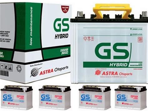 Accu Gs Astra Untuk Mobil daftar harga aki mobil gameonlineflash