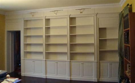 librerie classiche su misura librerie su misura in legno falegnameria lorenzon a