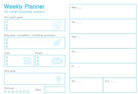 printable small business planner 11 free printable planners that every office worker needs