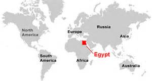 Egypt On World Map by Ancient Egypt Map Egyptabout