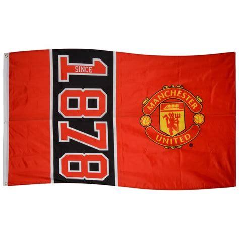 Manchester United 1878 manchester united flag 1878 www unisportstore