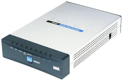 ruter systems cisco rv042 dual wan vpn router