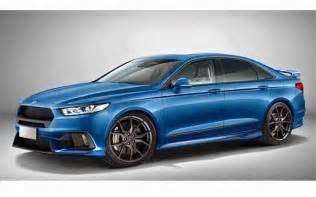 2018 ford taurus sho rendering 2 new concept cars