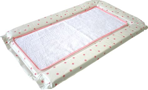 Chaning Mat by Polka Dot Changing Mat With Cotton Towelling Liner