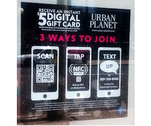 Urban Planet Gift Card - join urban planet get a free 5 digital gift card free product sles