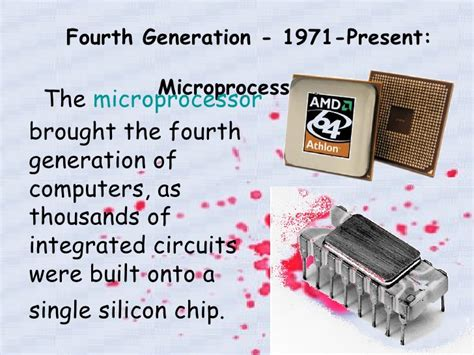 integrated circuits built on silicon chips were introduced during the generation of computing history of computer