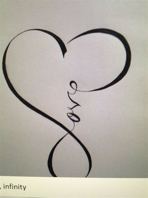 tattoo infinity line 25 best ideas about infinity symbol tattoos on pinterest