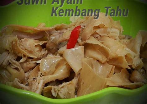 resep suwir ayam kembang tahu oleh atdapoerhanina cookpad