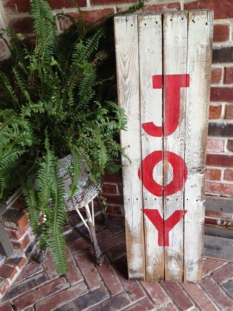 wooden joy christmas yard sign 17 best images about yard to sell on reindeer canes and lawn sign