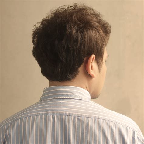 Back Of Head Hairstyle Photos For Men | back of head men haircut korean hairstyle back side