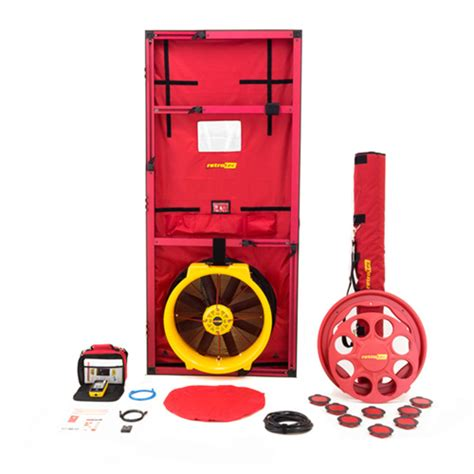 blower door test procedure blower door testing southwest radon