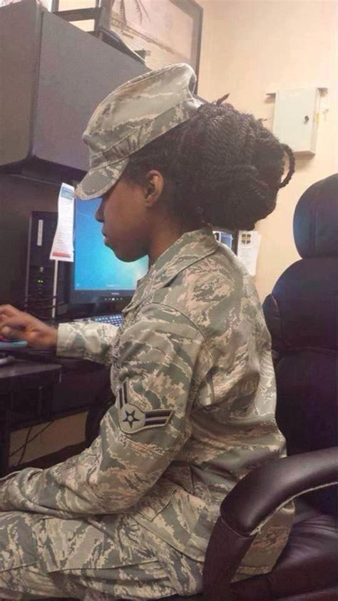 hairstyles for female army soldiers our hair is kinky black women cite racism after u s