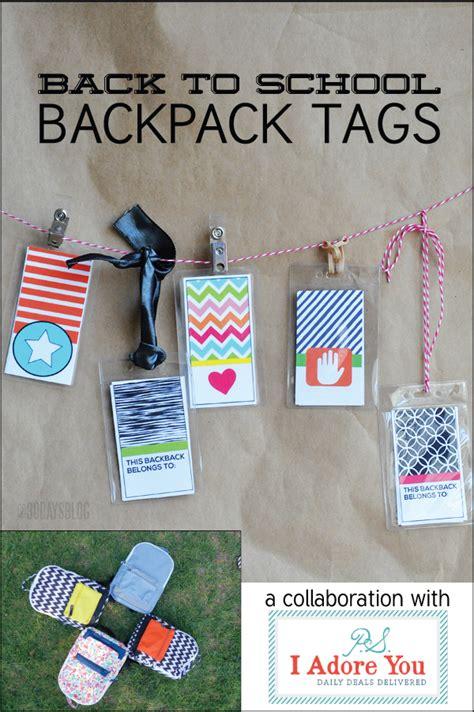 printable name tags for school bags printable backpack tags