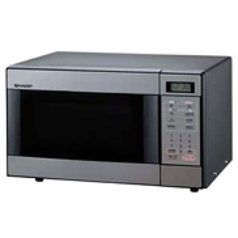 Microwave Sharp R 222y W sharp r298h stainless steel touch microwave oven 220 volts 110220volts