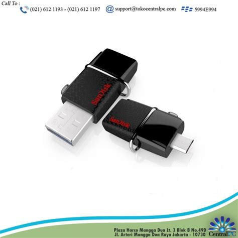Flashdisk Hp 16gb Otg flashdisk sandisk 16gb otg toko komputer rakitan harco