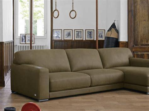 divani doimo pelle divano con penisola in pelle weldon doimo salotti