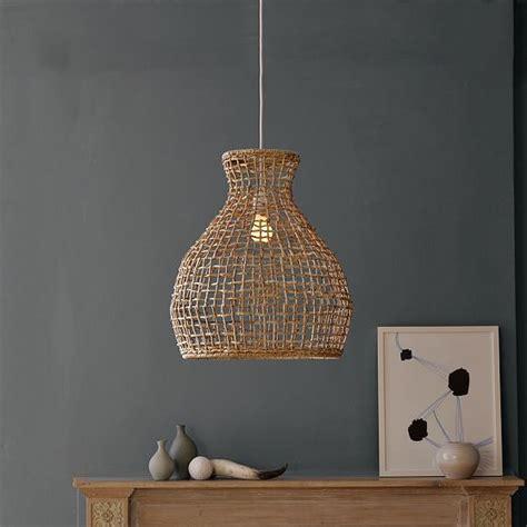 woven pendant light woven seagrass pendant modern pendant lighting by