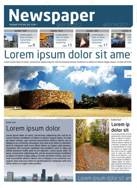 newspaper layout in html 8 sle newspaper layouts in design pdf