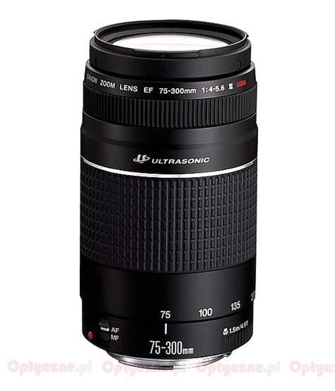 Canon Ef 75 300 Usm Iii canon ef 75 300 mm f 4 5 6 iii usm optyczne pl