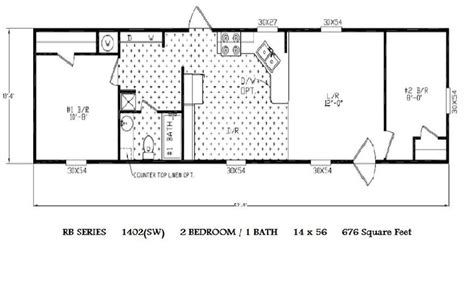 single mobile home floor plans single wide mobile home floor plans 14 x 52 garage
