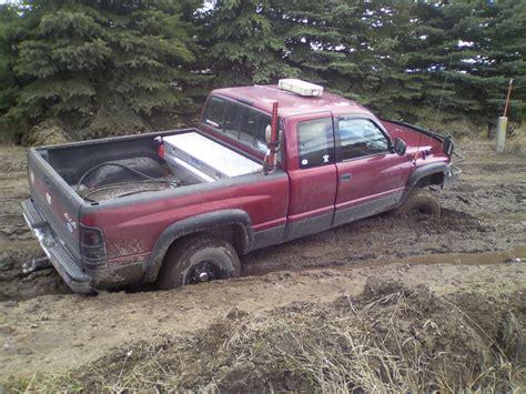 4wheelin Dodge Ram stuck again dodgeforum