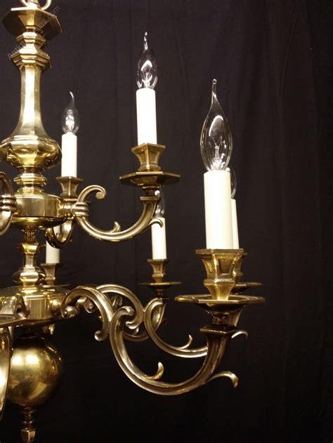 Antique Brass Chandeliers Antiques Atlas Antique Brass Flemish Chandelier