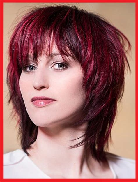 moderne mittellange bob frisuren 2018 mit die besten 25 roten haaren fransige frisuren mittellang frisur ideen