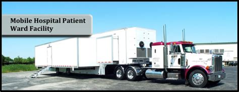 mobile hospital mobile hospital patient ward facility 53 16m mobile