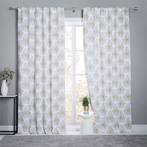 curtains with blackout lining sted ikat linen cotton curtain blackout lining