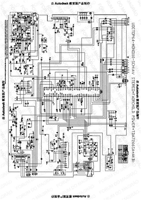 cce tv usp av ver  service manual repair schematics
