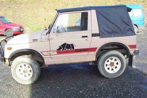 suzuki jeep 2015 suzuki 1985 sj410 top 4x4 jeep mot oct 2015 no